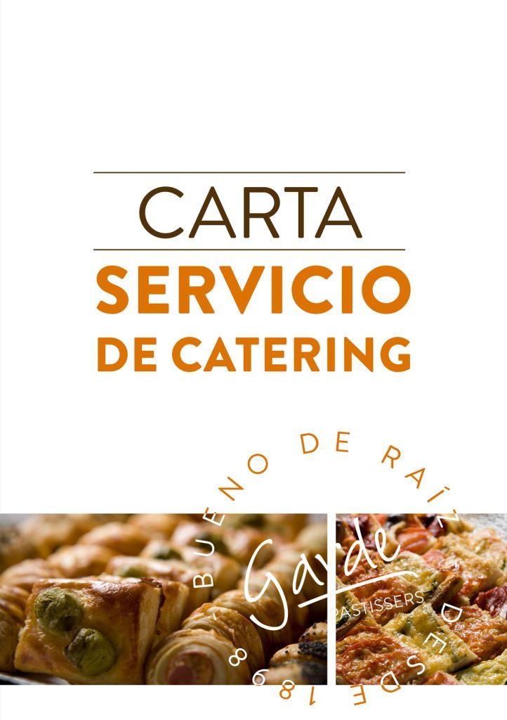 Carta Servicio de Catering Página 1